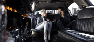 Business Meeting in Limo - Armonk, NY - Armonk Limousine